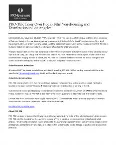 LAC Group Kodak Distribution Press Release - PRNewswire-14nov2014_Page_1